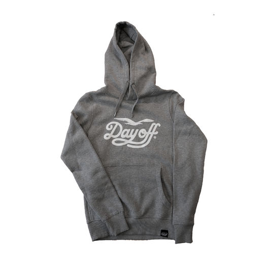 Day Off Classic Hoodie Grey/White