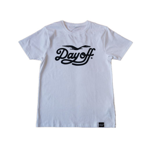 Day Off classic T-shirt white/black, Unisex